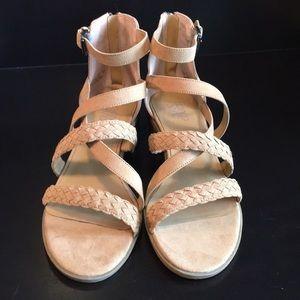 NWOB - Franco Sarto Beige/Nude Sandals